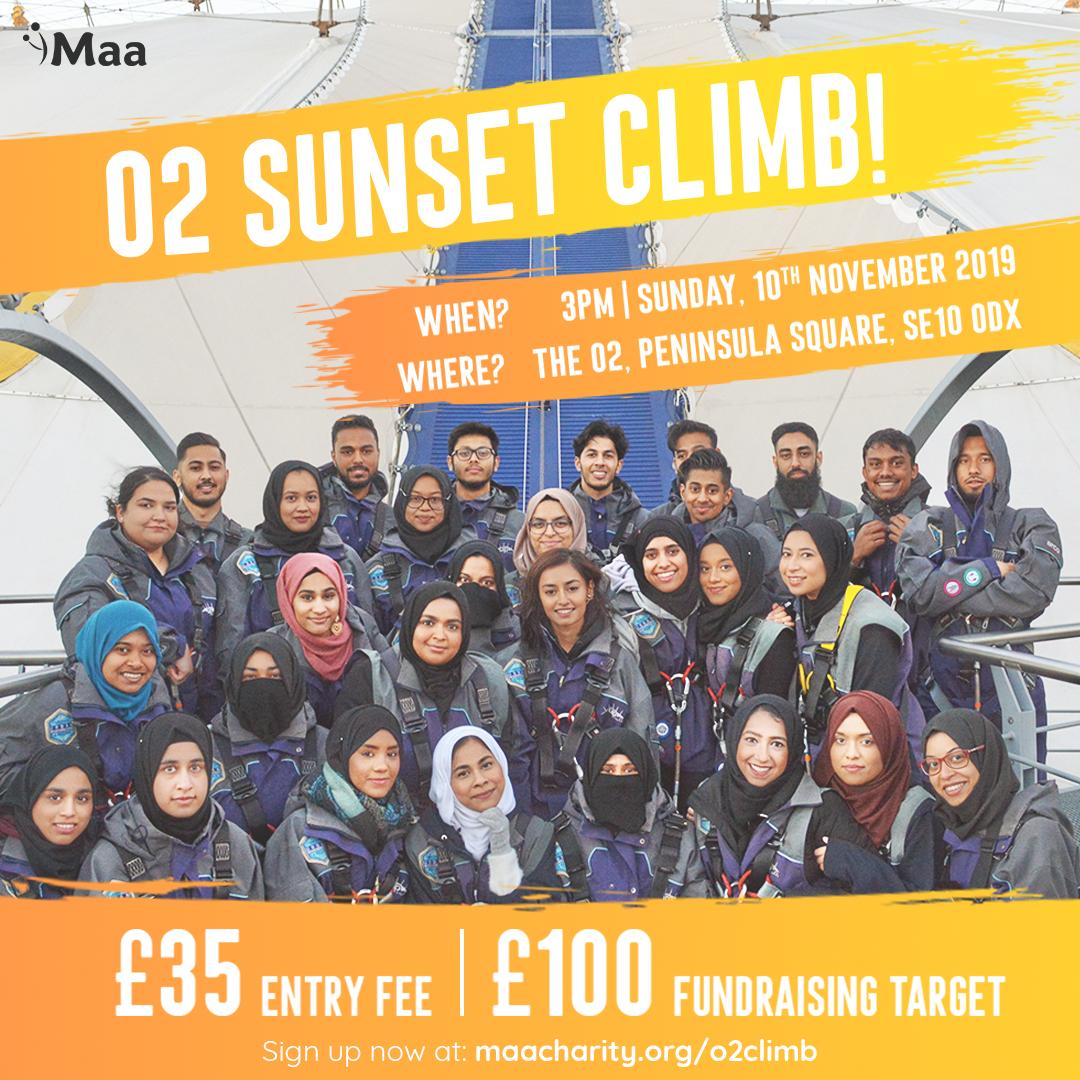 Sponsored O2 Climb