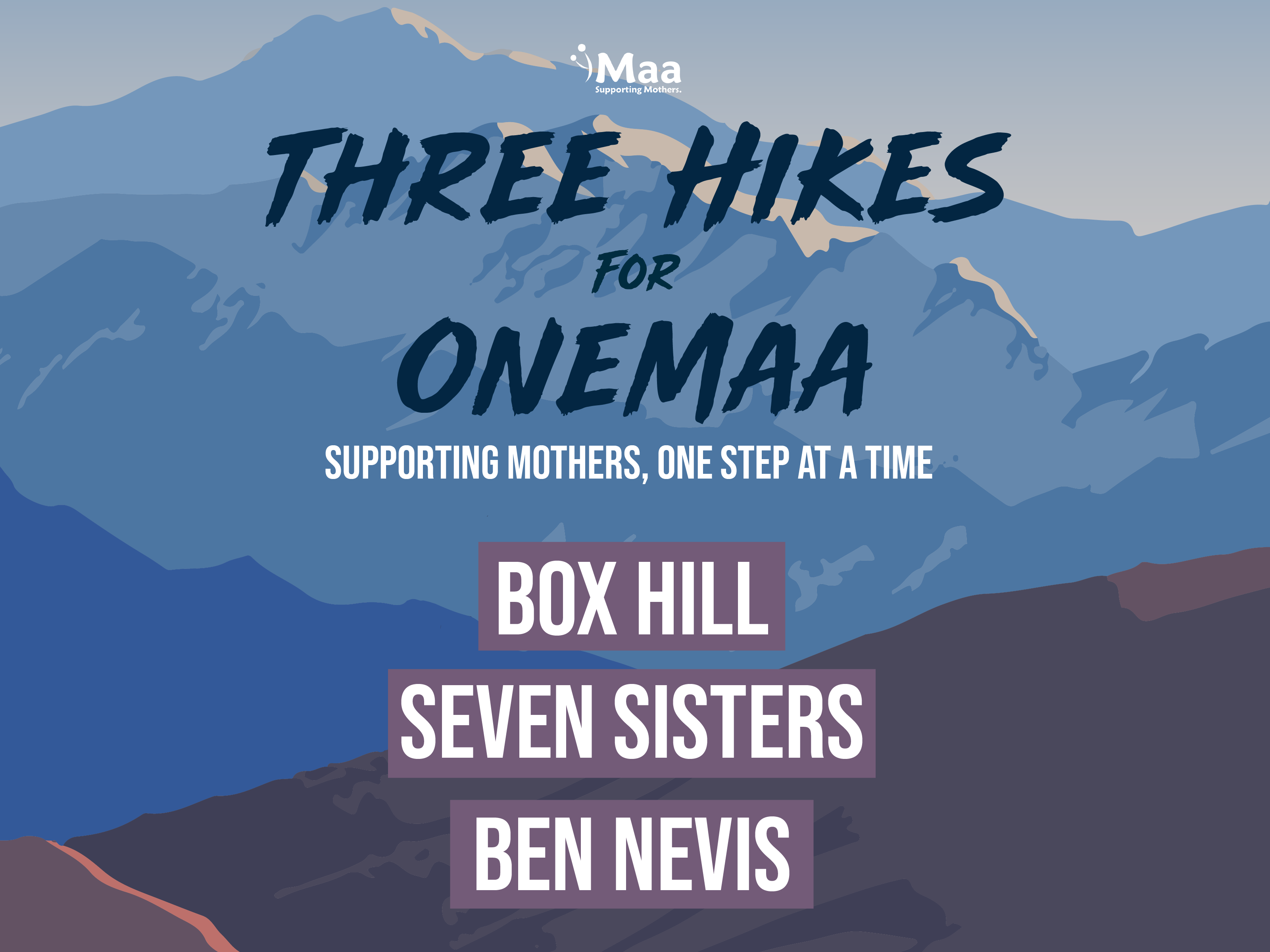 3 Hikes for OneMaa